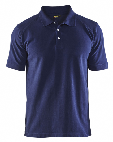 Blaklader 3324 Pique 2 Colour Polo Shirt (Navy Blue)